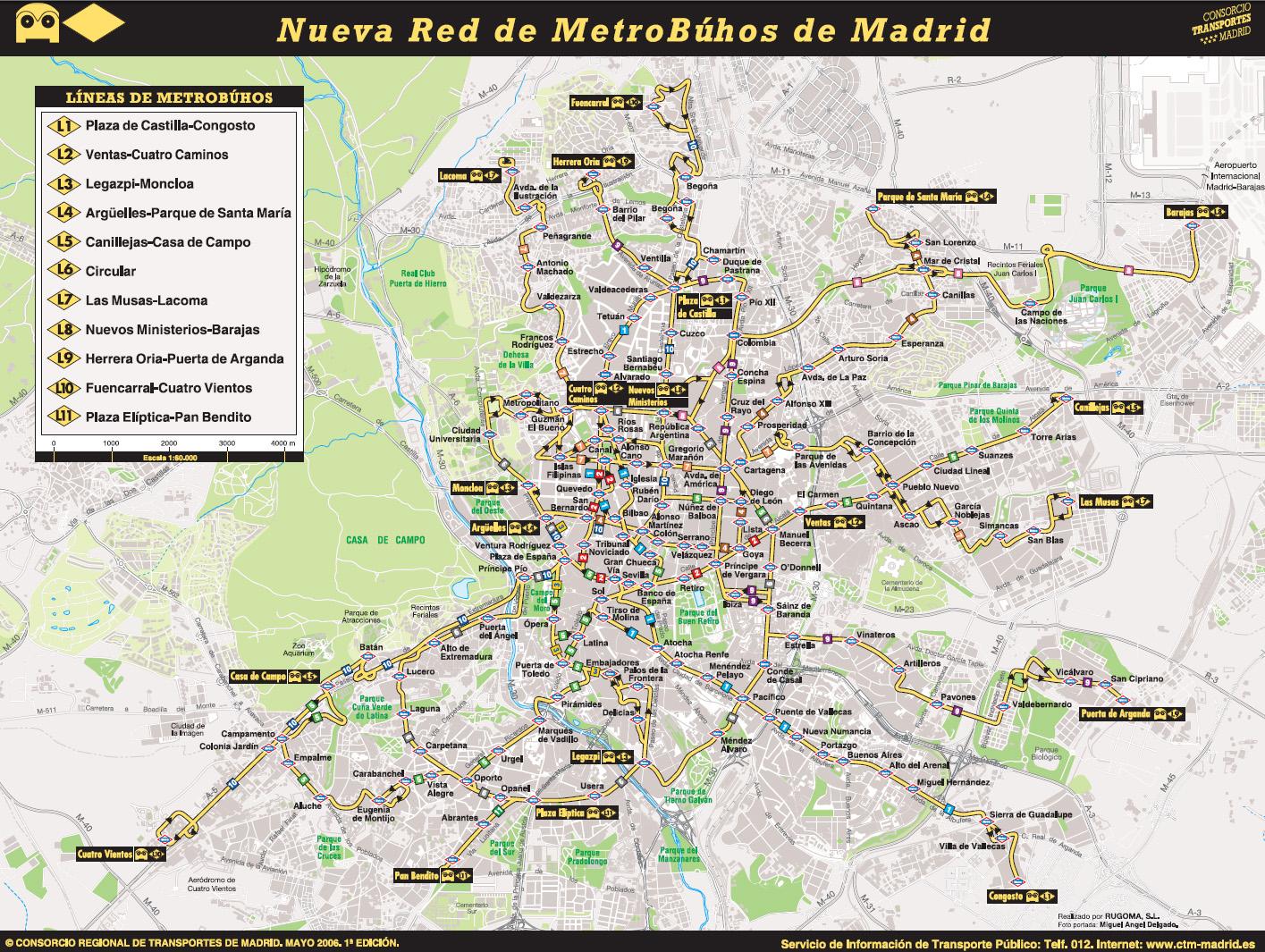 схема ночных автобусных маршрутов